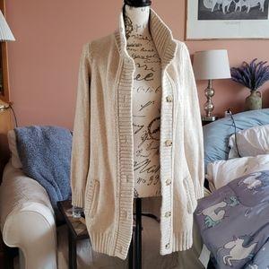 Ralph Lauren Long Boyfriend Sweater Cardigan